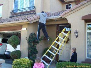 Healthy-living-step ladder