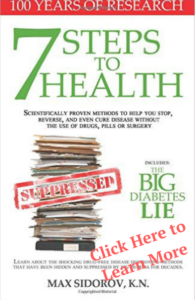7 Steps to Health and the Big Diabetes Lie. Read This