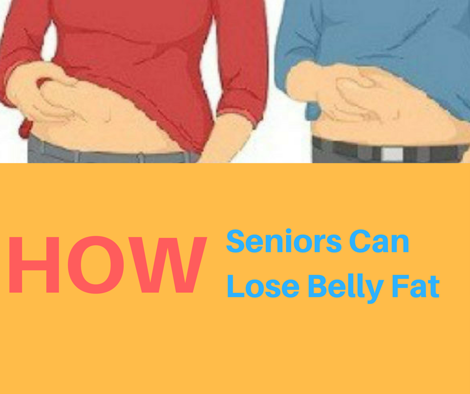 How Seniors Can Lose Belly Fat