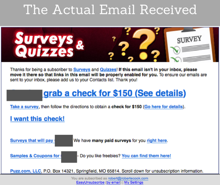 Online Surveys From Home Scam or Legit
